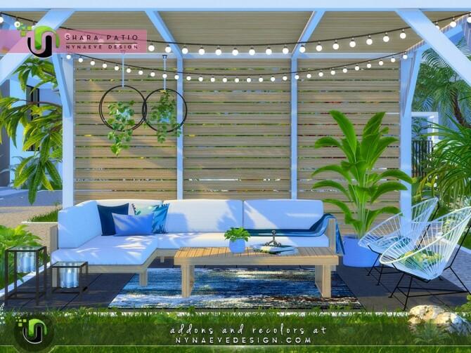 Shara Patio I by NynaeveDesign at TSR image 5020 670x503 Sims 4 Updates