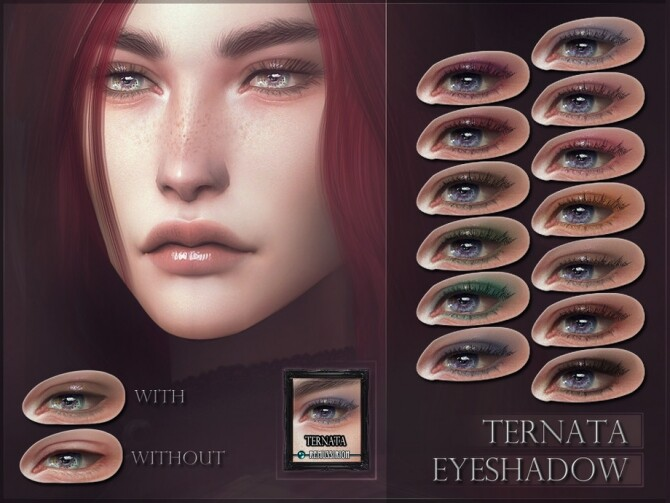 Ternata Eyeshadow by RemusSirion at TSR image 5021 670x503 Sims 4 Updates