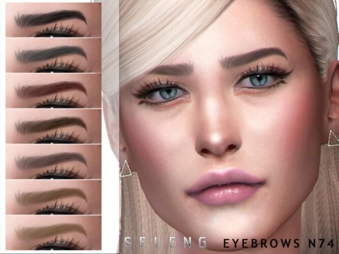 Eyebrows N74 by Seleng