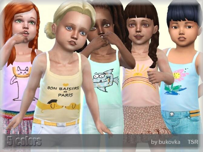 Sims 4 Shirt Female Toddler by bukovka at TSR