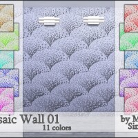 M90 Mosaic Wall 01 by Mircia90