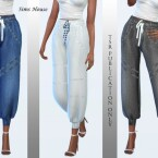 Pants joggers without print by Sims House
