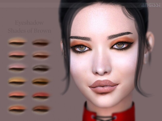 Shades of Brown Eyeshadow by ANGISSI