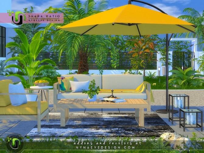 Shara Patio I by NynaeveDesign at TSR image 5221 670x503 Sims 4 Updates