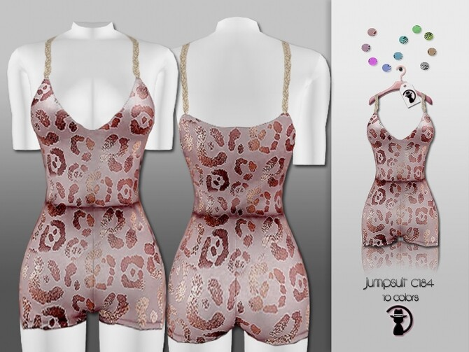 Jumpsuit C184 by turksimmer at TSR image 524 670x503 Sims 4 Updates