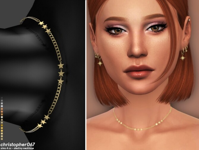 Destiny Necklace by Christopher067 at TSR image 5312 670x503 Sims 4 Updates