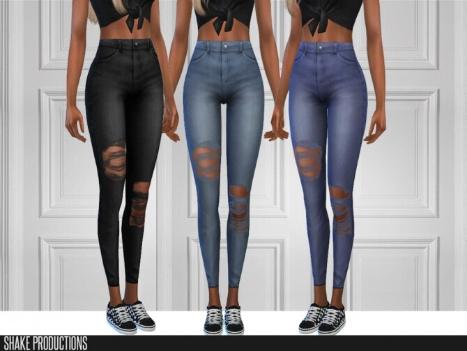 6 jeans set by ShakeProductions at TSR image 5316 670x503 Sims 4 Updates