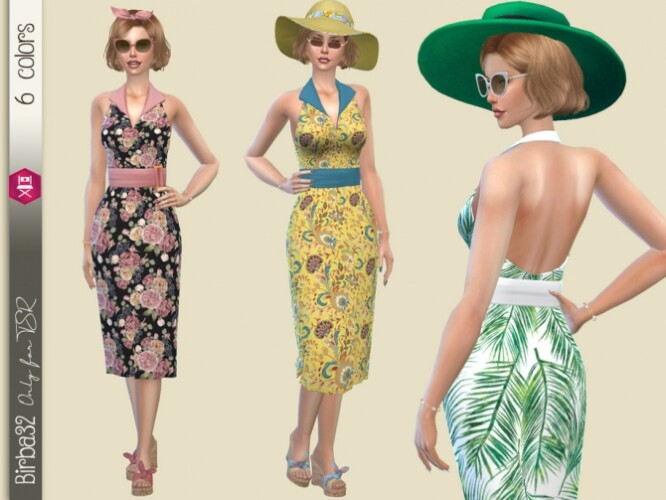Summer floral dress by Birba32