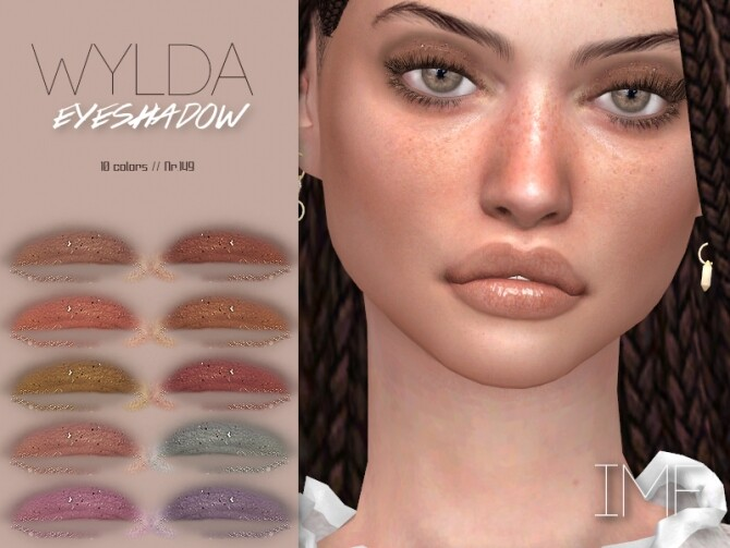 Sims 4 IMF Wylda Eyeshadow N.149 by IzzieMcFire at TSR