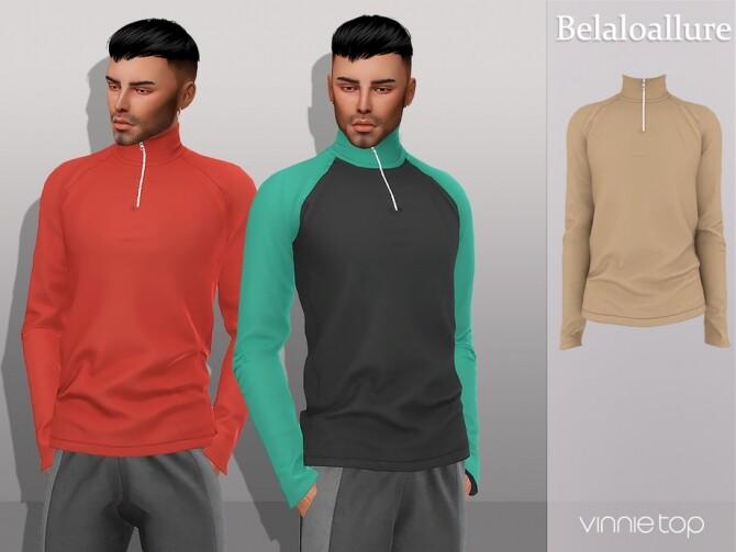 Belaloallure Vinnie top by belal1997 at TSR image 5411 670x503 Sims 4 Updates