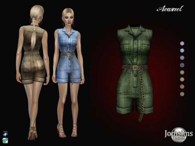Acasnel jumpsuit by jomsims