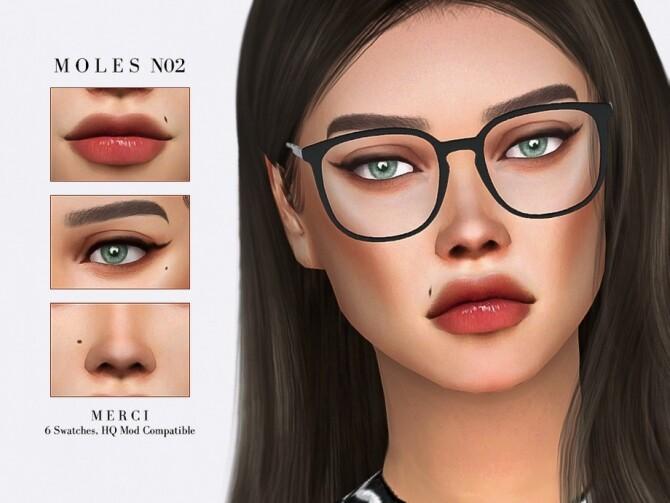 Sims 4 Moles N02 by Merci at TSR