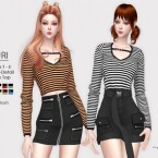 SURI V-Neck Top by Helsoseira