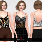 Summer Top for Women 01 by remaron