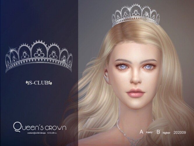 Queen tiara by S-Club LL