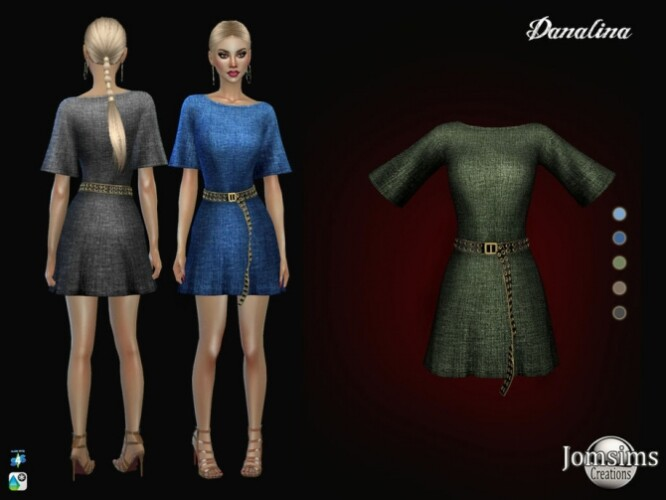 Danalina dress by  jomsims