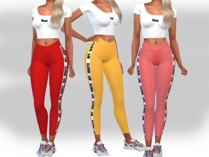Female Casual Sport Outfits by Saliwa