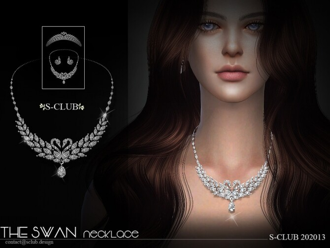 Necklace 202013 by S Club LL at TSR image 575 670x503 Sims 4 Updates