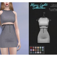 LMCS Uncover Two Piece Set by Lisaminicatsims