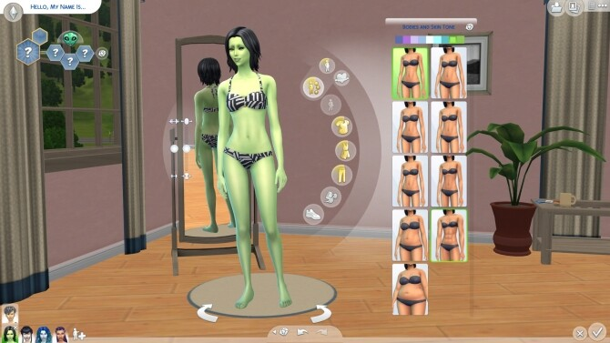 Sims 4 41 Maxis Skins with Occult Tags by DizZyDiceS at Mod The Sims
