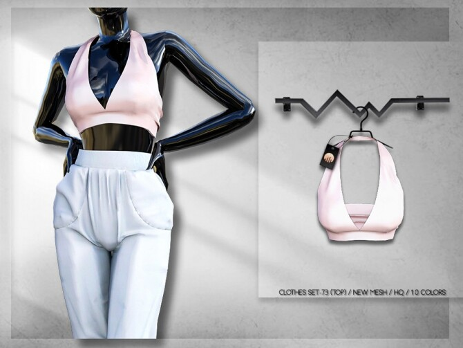 Clothes SET 73 TOP BD285 by busra tr at TSR image 5917 670x503 Sims 4 Updates