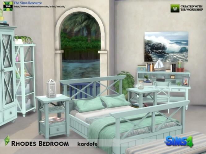 Rhodes Bedroom by kardofe