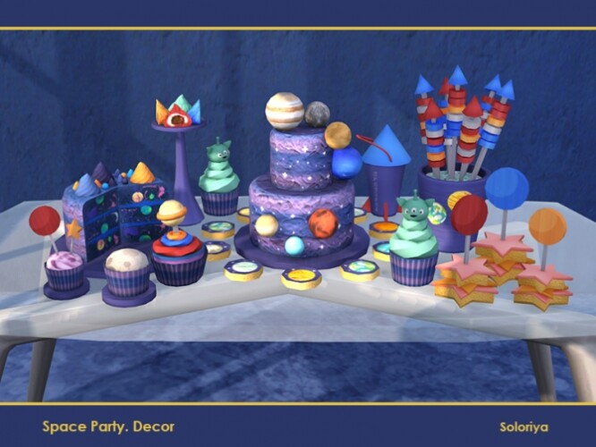 Space Party Decor by soloriya
