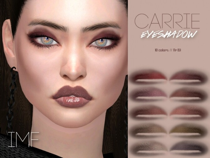 IMF Carrie Eyeshadow N.151 by IzzieMcFire at TSR image 6012 670x503 Sims 4 Updates