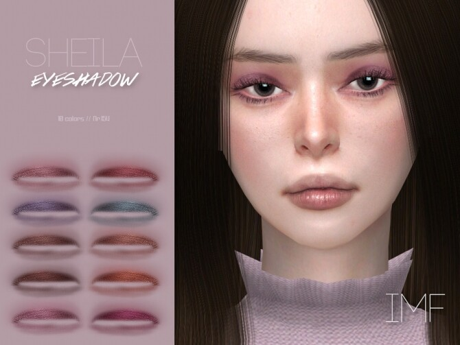 IMF Sheila Eyeshadow N.154 by IzzieMcFire at TSR image 6020 670x503 Sims 4 Updates