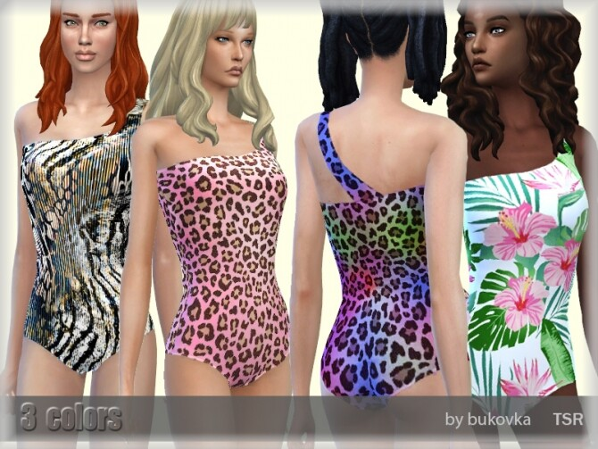 Sims 4 Swimsuit for females by bukovka at TSR
