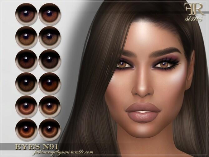 Sims 4 FRS Eyes N91 by FashionRoyaltySims at TSR