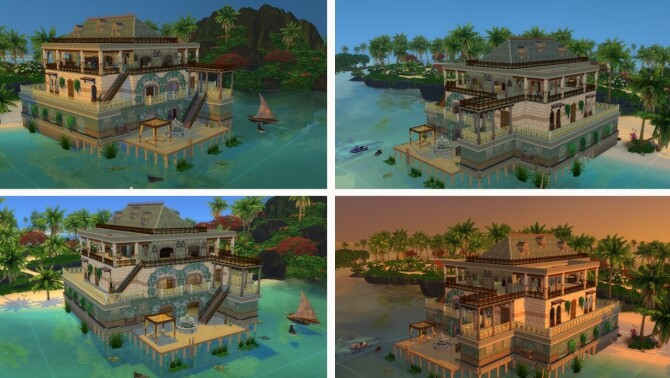 Sims 4 Baron Samedi House at Tatyana Name