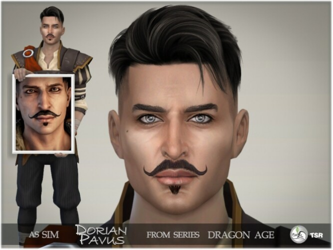 Dragon Age Dorian Pavus by BAkalia