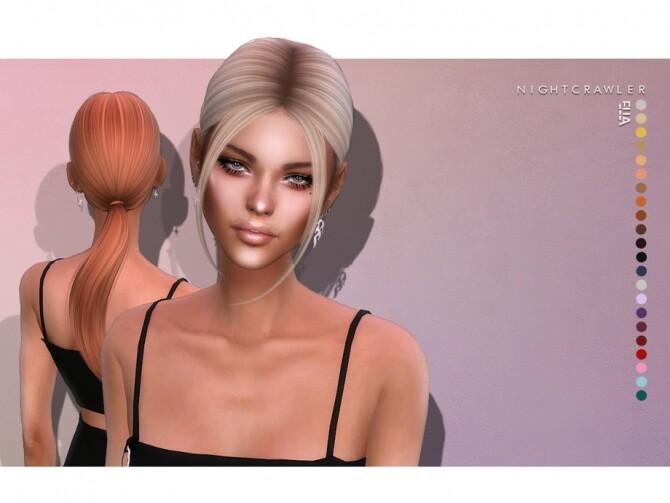 Sims 4 Ella hair by Nightcrawler at TSR