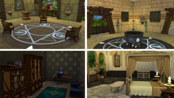 Baron Samedi House at Tatyana Name image 658 670x378 Sims 4 Updates