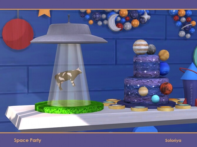 Space Party by soloriya at TSR image 661 670x503 Sims 4 Updates