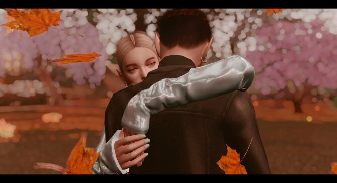 Sims 4 You and me poses at Rethdis love
