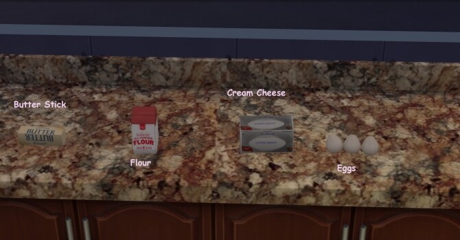 Grocery Baking Ingredients PART 1 by Laurenbell2016 at Mod The Sims image 6711 670x349 Sims 4 Updates