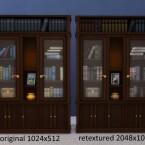 Buyable Executron Bookshelf by xordevoreaux