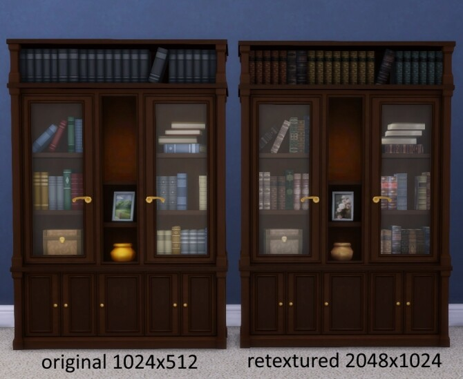 Buyable Executron Bookshelf by xordevoreaux at Mod The Sims image 6810 670x549 Sims 4 Updates