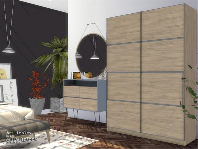 Sims 4 Milla Bedroom by ArtVitalex at TSR