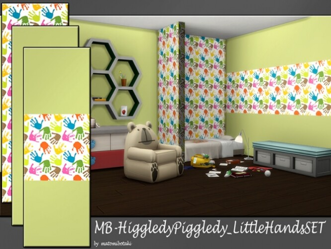MB Higgledy Piggledy Little Hands SET by matomibotaki