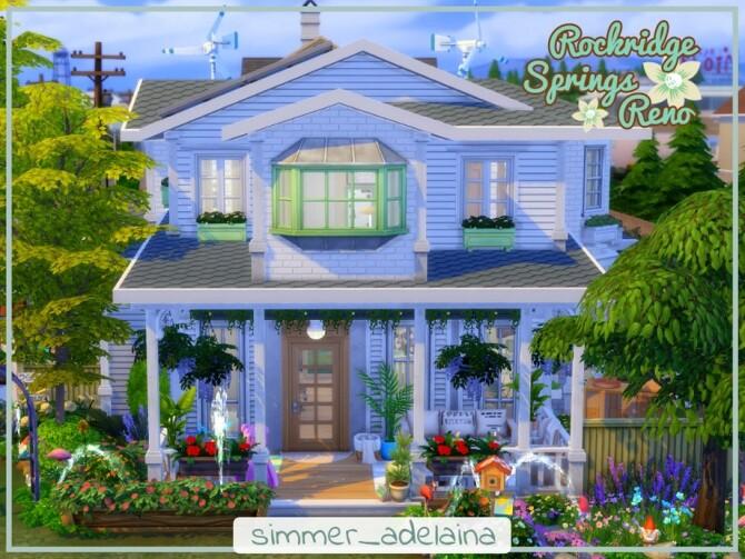 Rockridge Springs Reno by simmer adelaina at TSR image 685 670x503 Sims 4 Updates