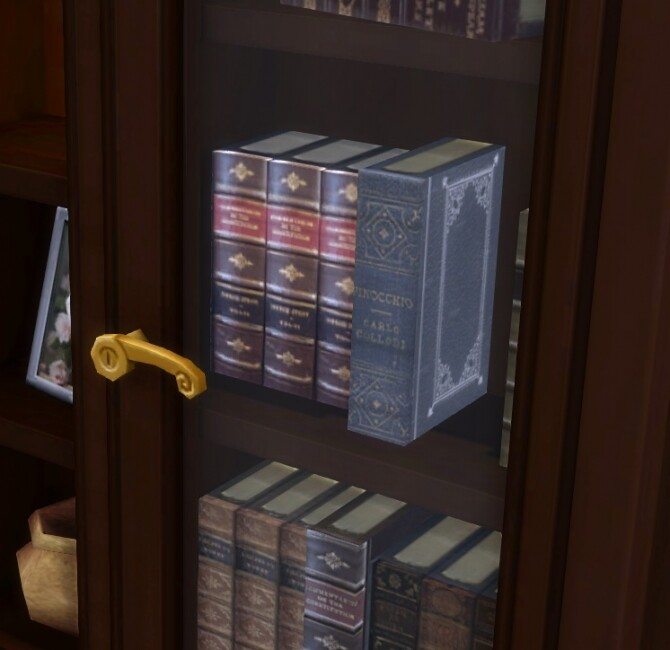 Sims 4 Buyable Executron Bookshelf by xordevoreaux at Mod The Sims