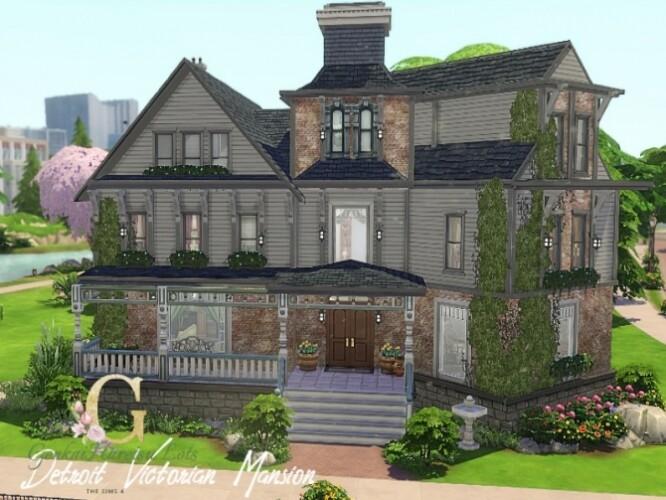 Detroit Victorian Mansion by GenkaiHaretsu