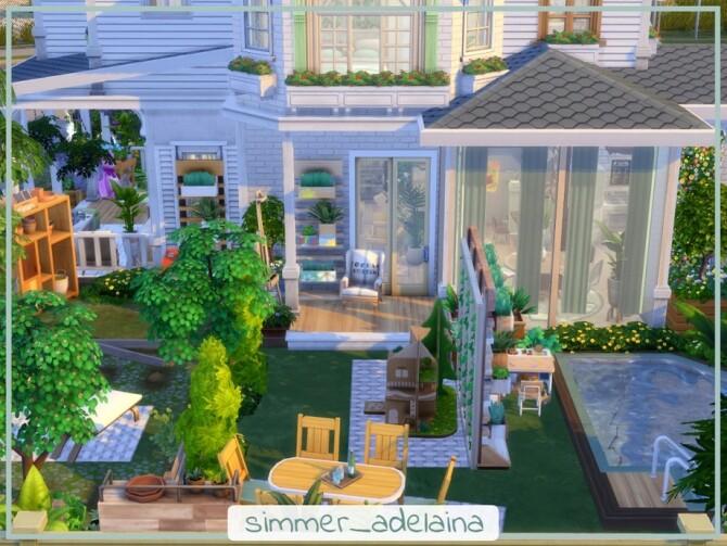 Sims 4 Rockridge Springs Reno by simmer adelaina at TSR