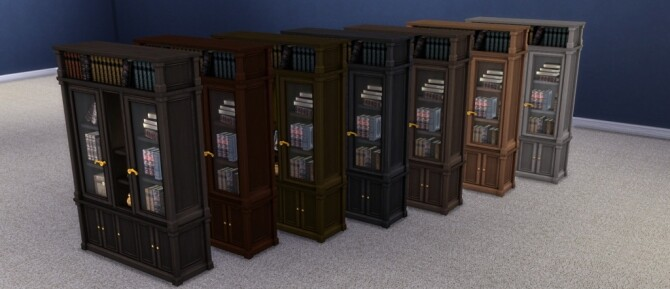 Buyable Executron Bookshelf by xordevoreaux at Mod The Sims image 7011 670x289 Sims 4 Updates