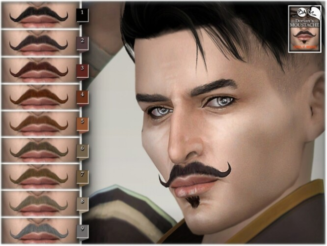Dorian moustache by BAkalia