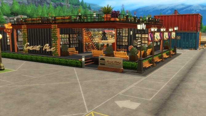 Industrial style food park by simbunnyRT