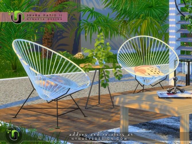 Sims 4 Shara Patio II by NynaeveDesign at TSR